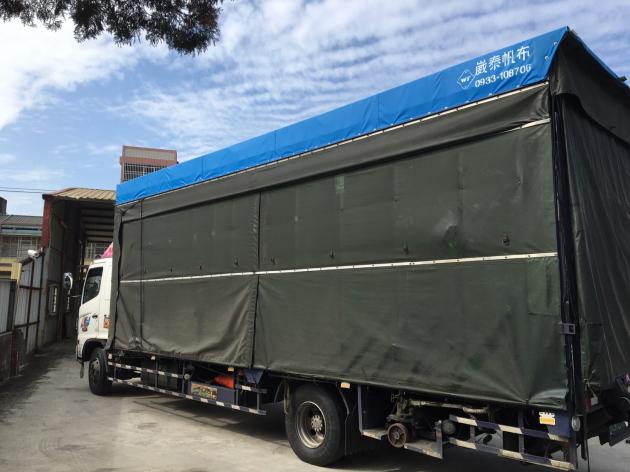 貨車頂篷換布 2